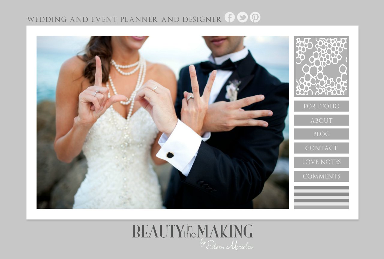 WEDDING AND EVENT PLANNER AND DESIGNER