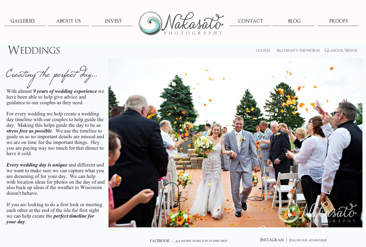 Gallery weddings nakasato photography milwaukee for Wedding videography wisconsin