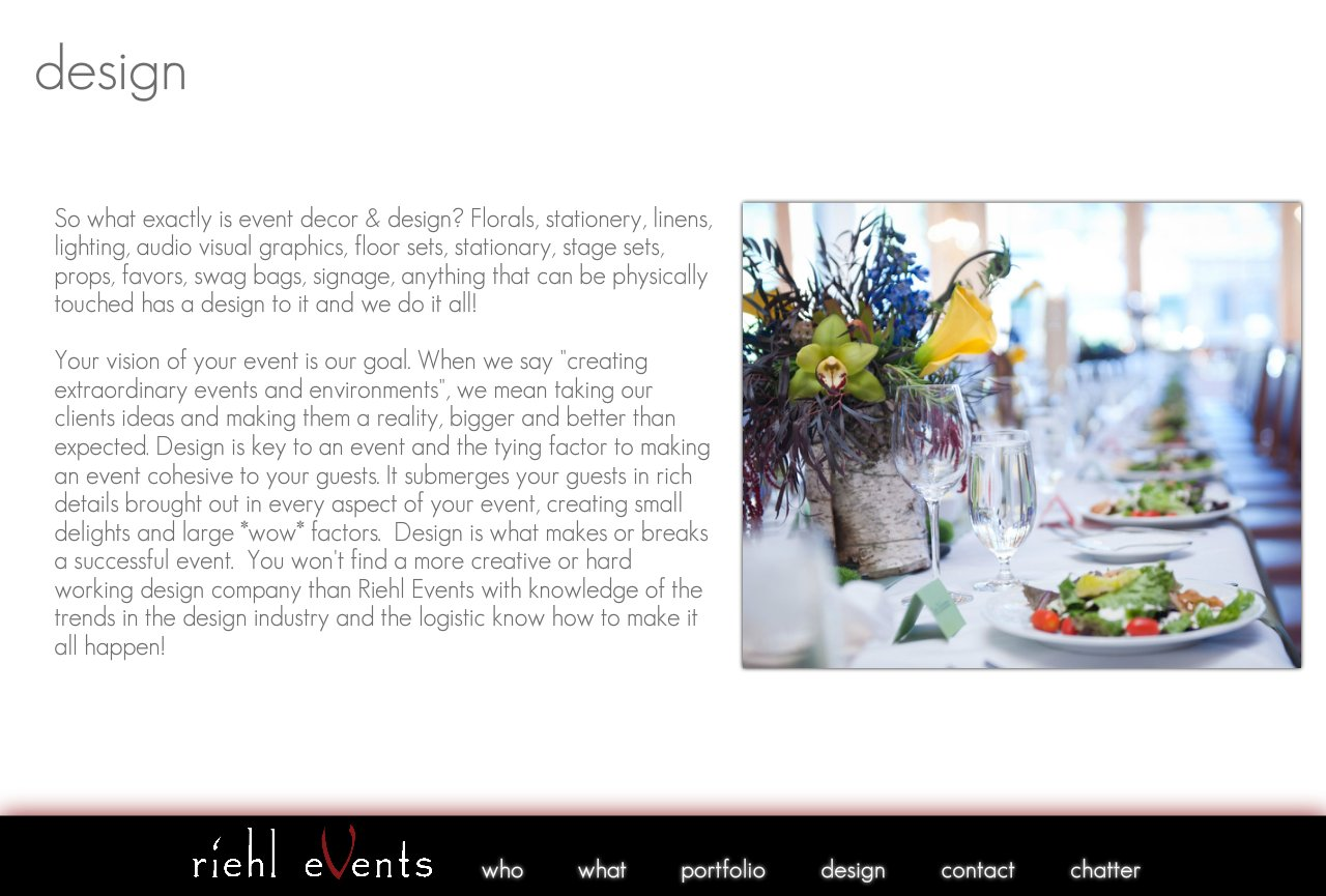 Riehl Events - Design and Decor