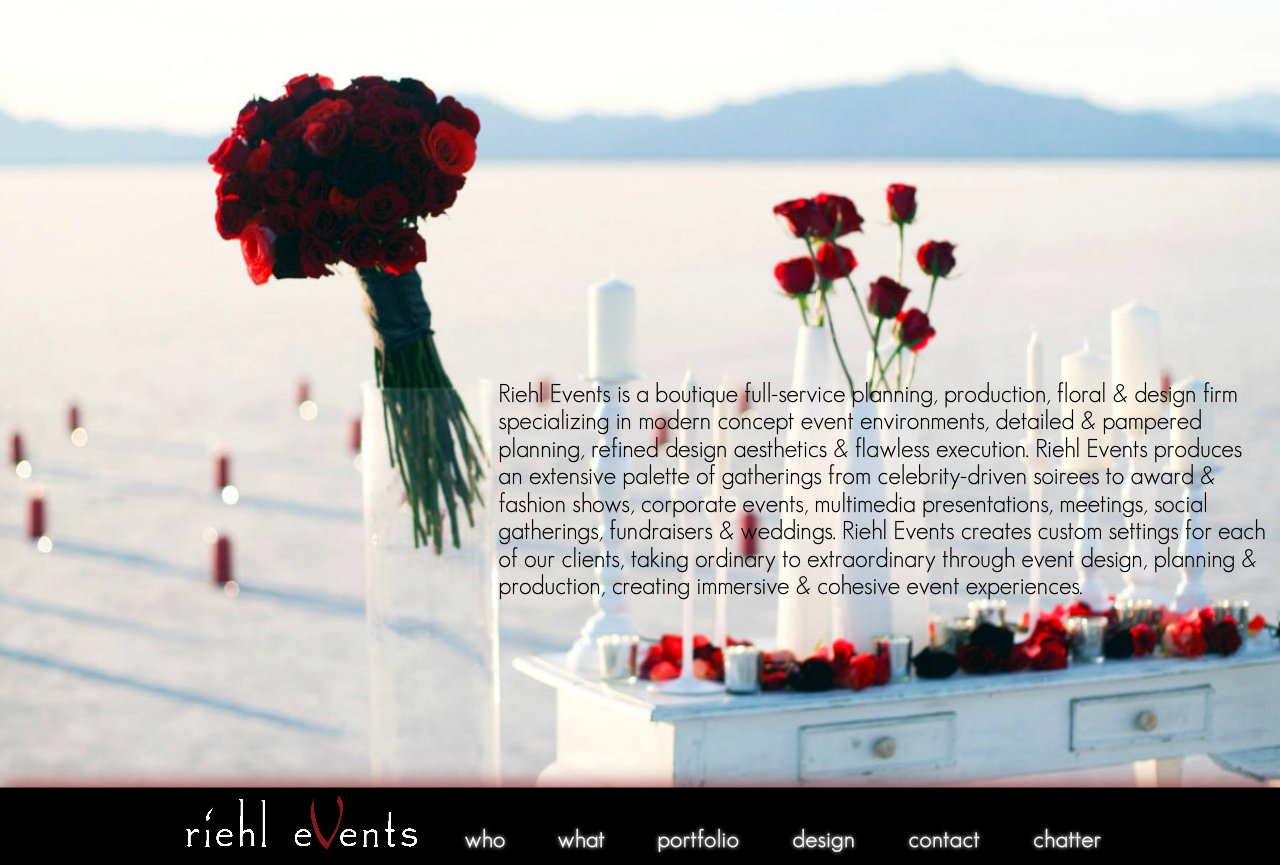 Riehl Events - Extraordinary Events And Environments
