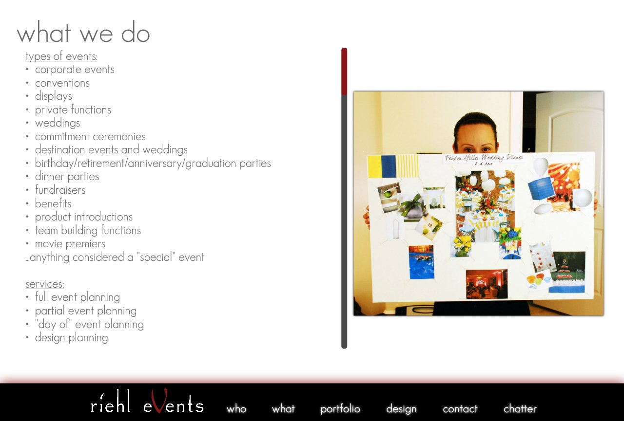 Riehl Events - Event Planning, Production & Design