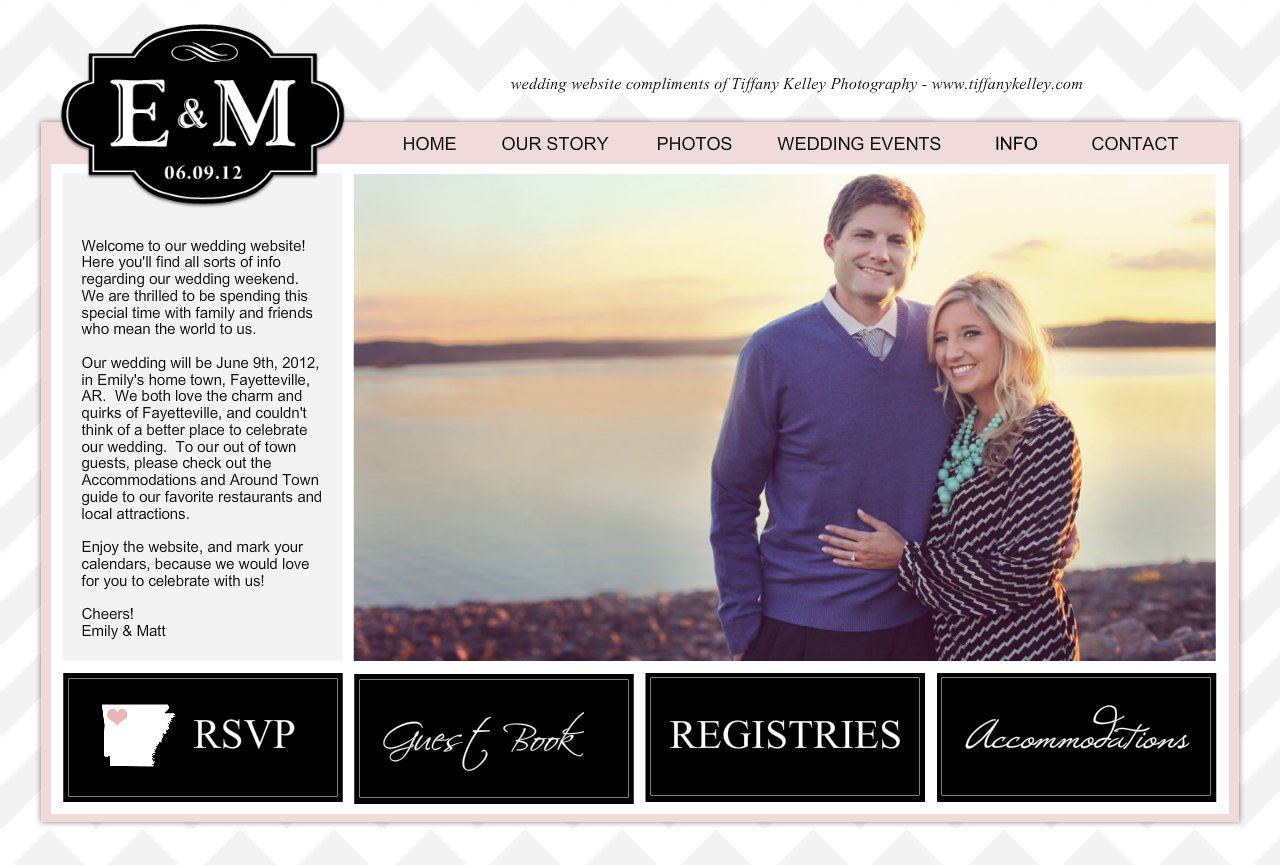 Wedding Website Welcome Message Zrom