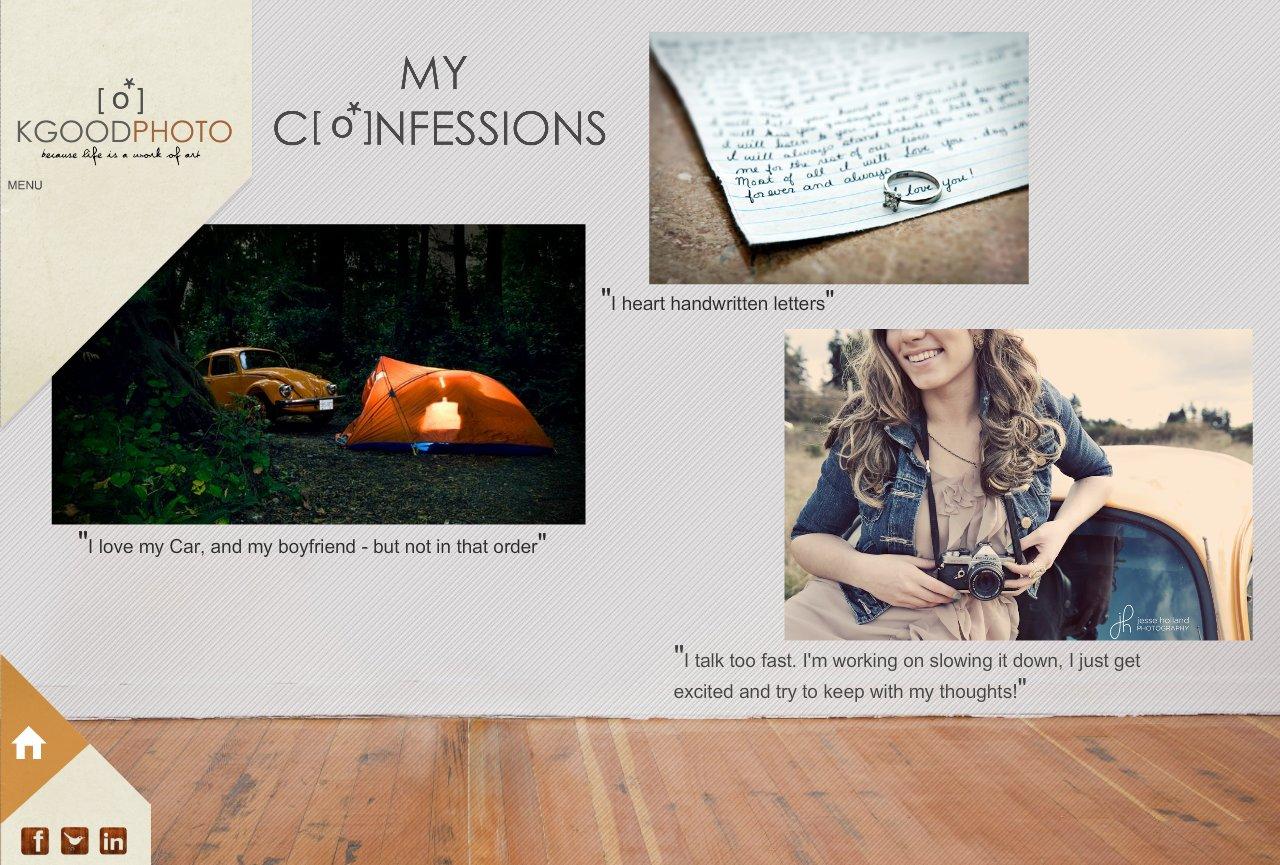 My Confessi[o*]ns