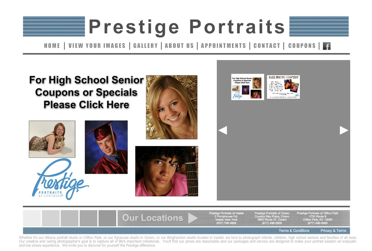 Prestige portraits coupon code 2018