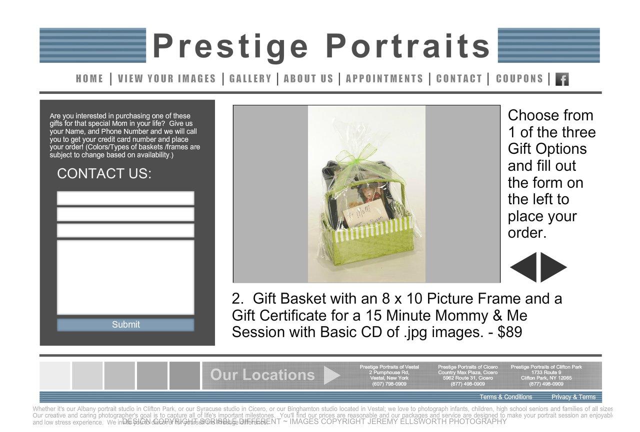 Prestige portraits discounts coupons