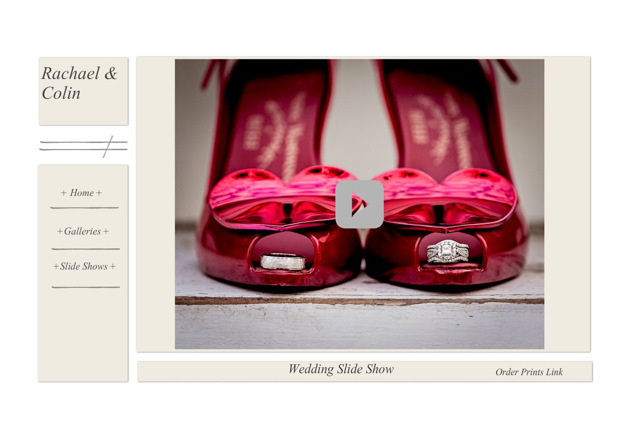 Wedding Slide Show