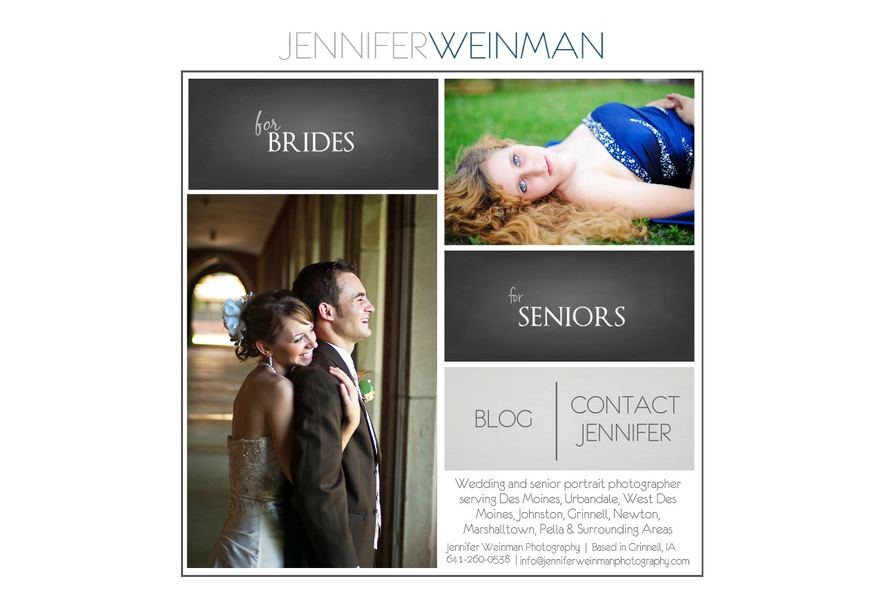 Des Moines Wedding Photographer and Grinnell Senior Photographer Home