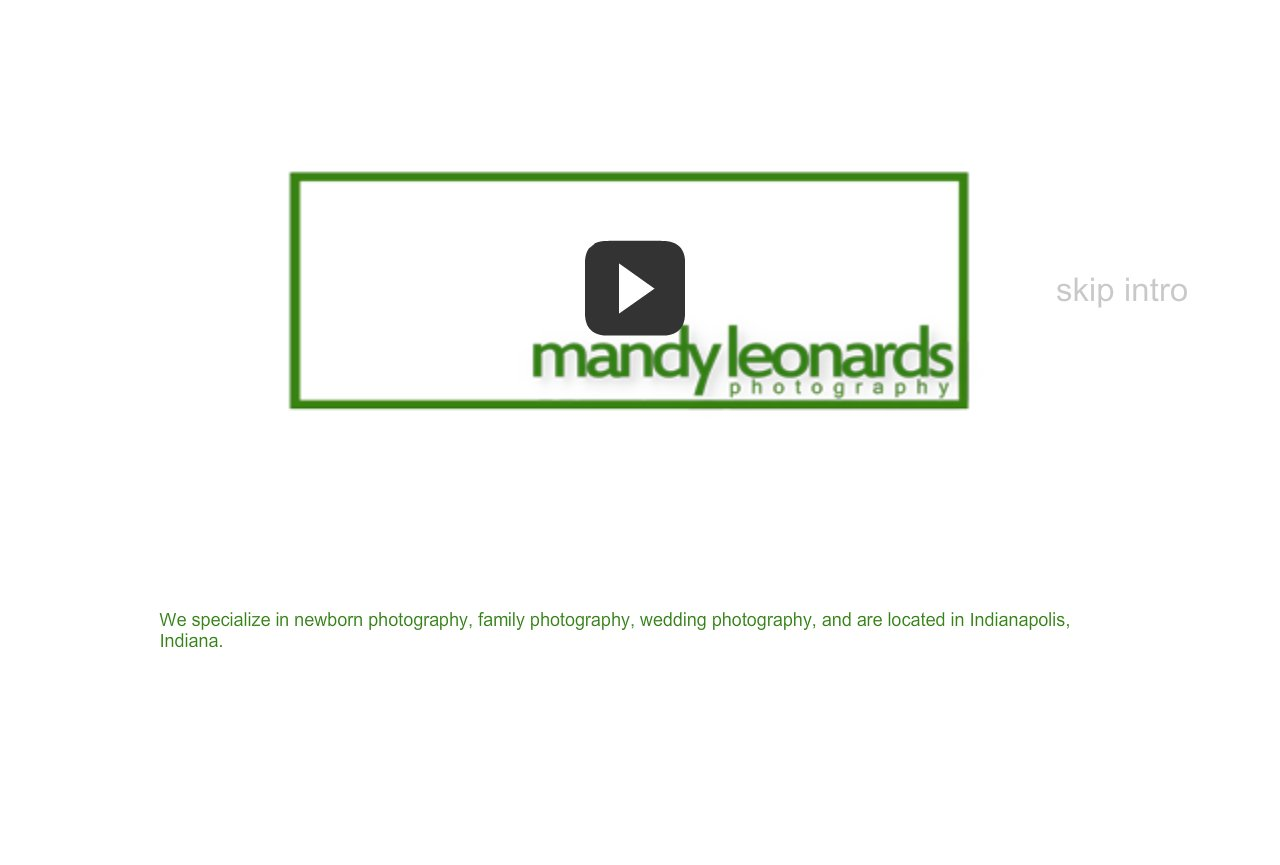 Mandy Leonards Photography - Indianapolis Photographer