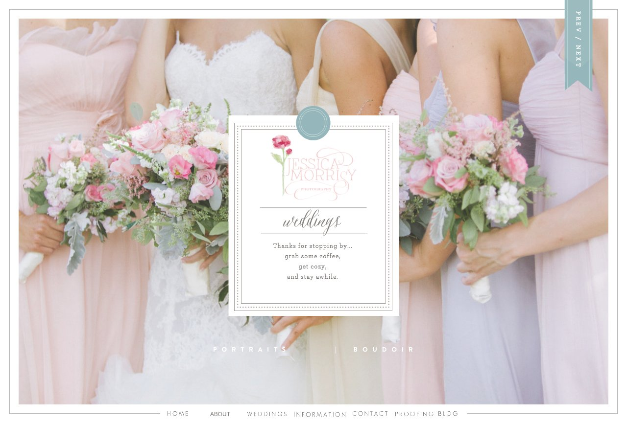 Jessica Morrisy Photography Weddings-Home