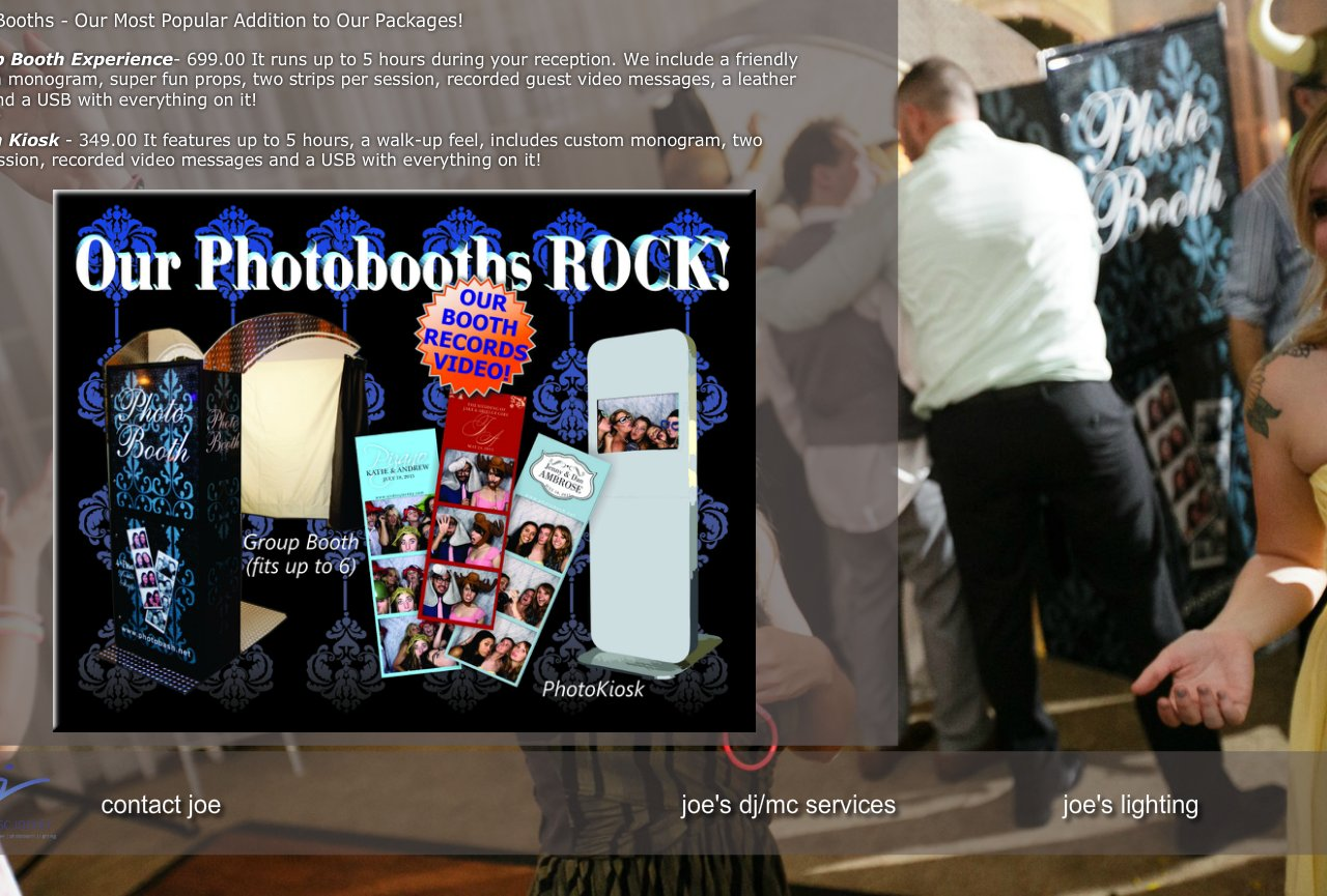 Joe's Photobooth - Sacramento Photobooth Rental