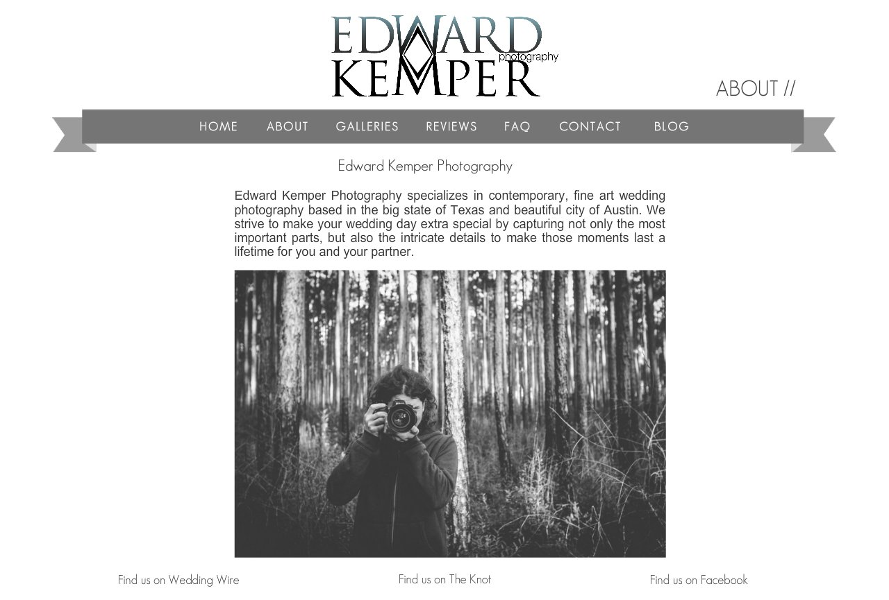 Edward Kemper Photography - About - Cityboy Style Group by Style Me Up