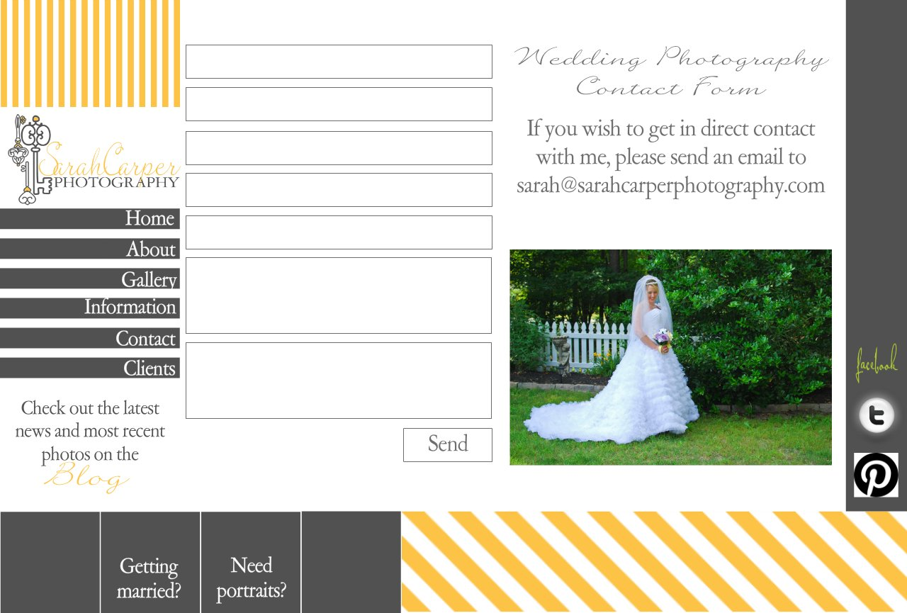 SCP Wedding Photography Contact