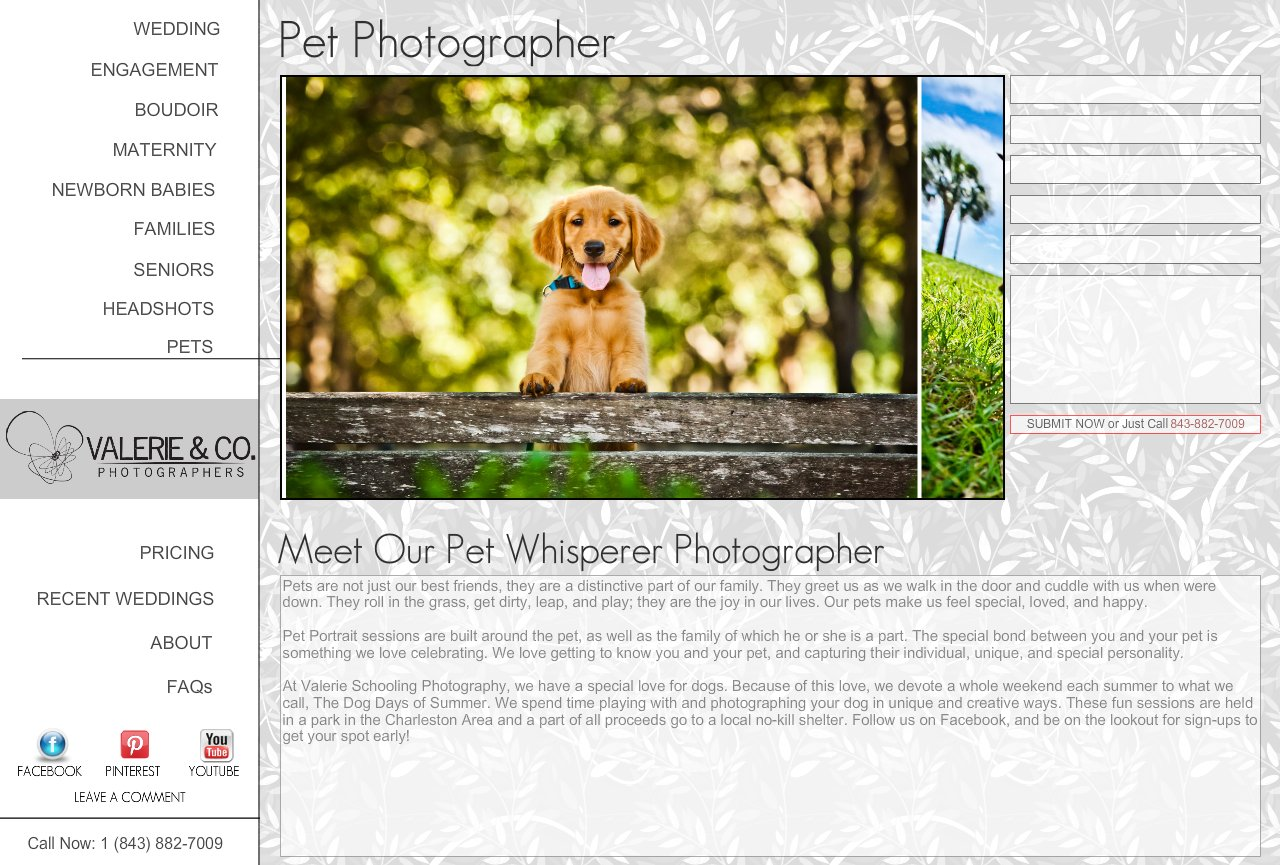 Pet Photography in Charleston | Capturing Our Favorite Family Member