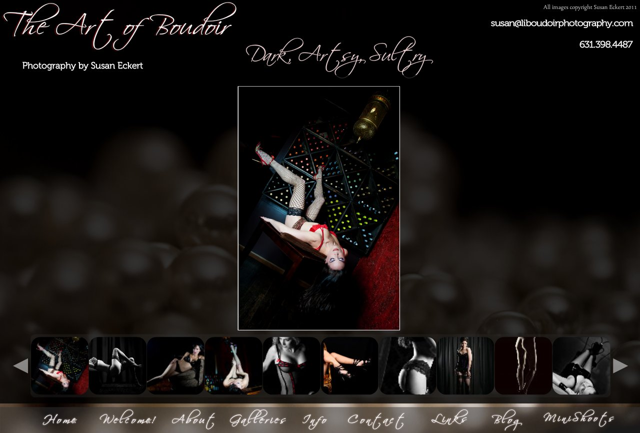 Boudoir Photography ~ Is your style dark, artsy, or sultry?