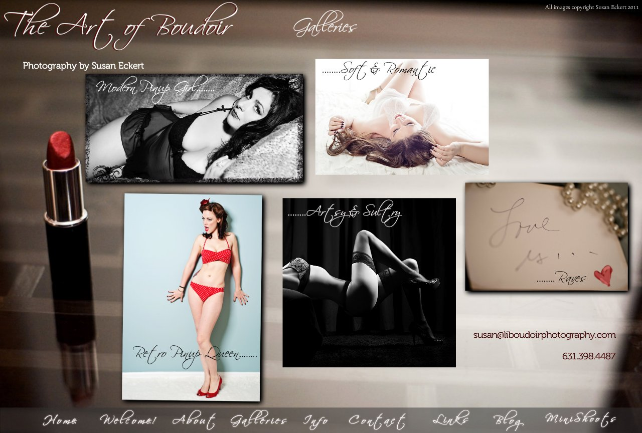 Boudoir Photography Galleries ~ Many Styles Customized to Suit Your Unique Personality!