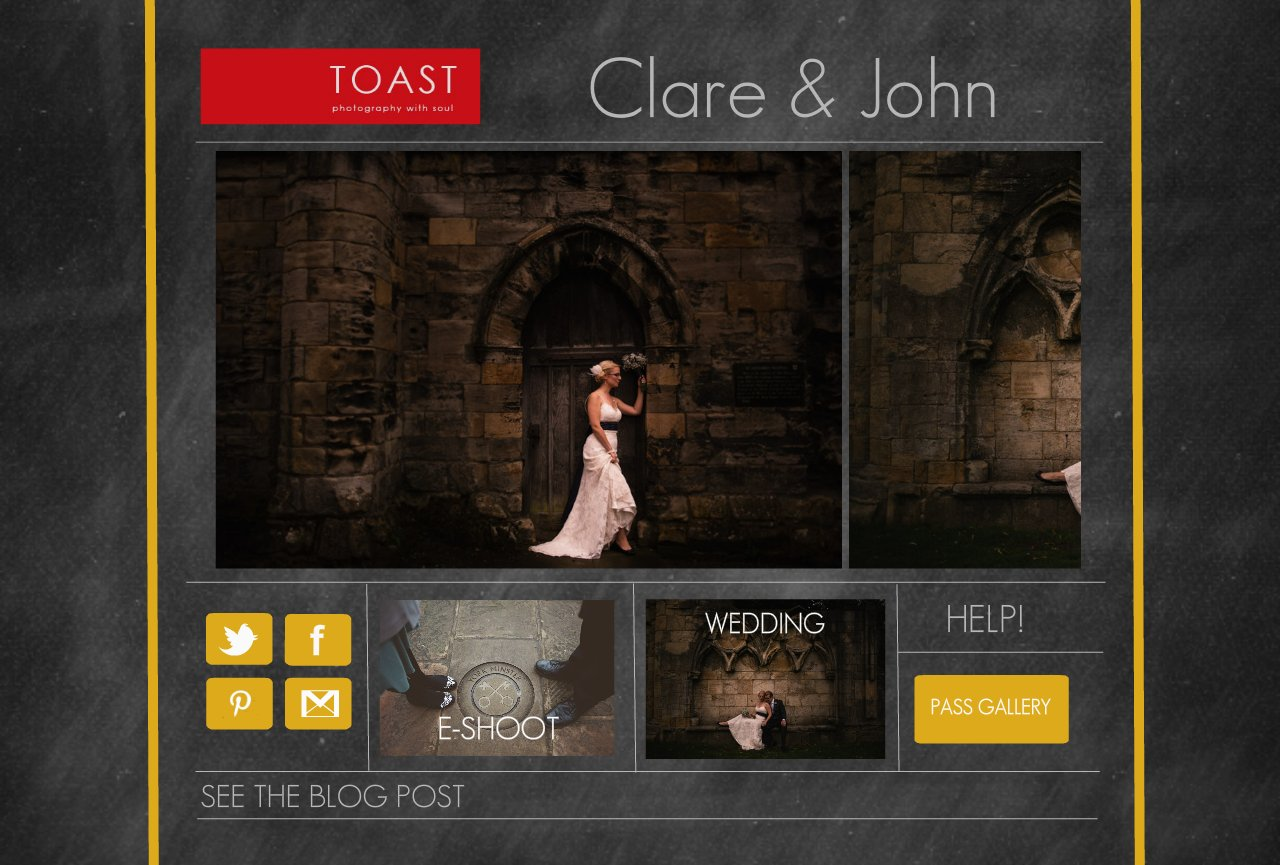 Clare & John's Hospitium Wedding by Toast of Leeds Photography