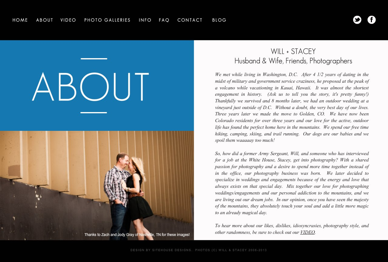 Learn what makes Will and Stacey the best wedding photographers for your special day