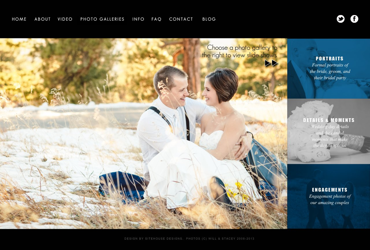 A sample of Will and Stacey's best wedding photography