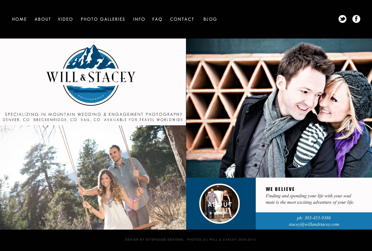 Will and Stacey Colorado Mountain Wedding Photography Specialists