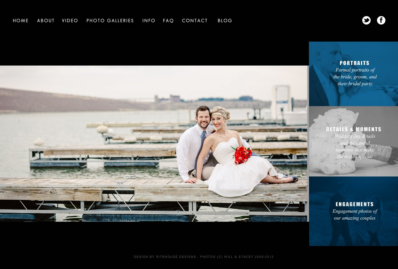 A sample of Will and Stacey's best wedding photography of the bride and groom