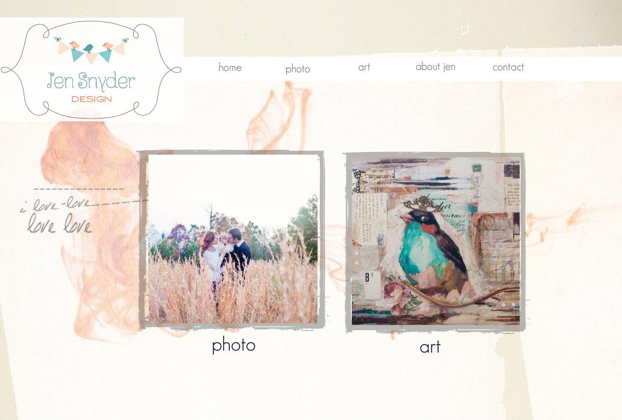 Jen Snyder Design Home Page