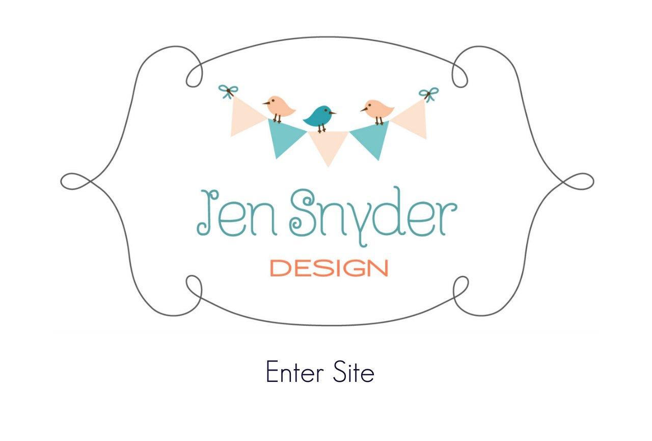 Jen Snyder Design Intro Page