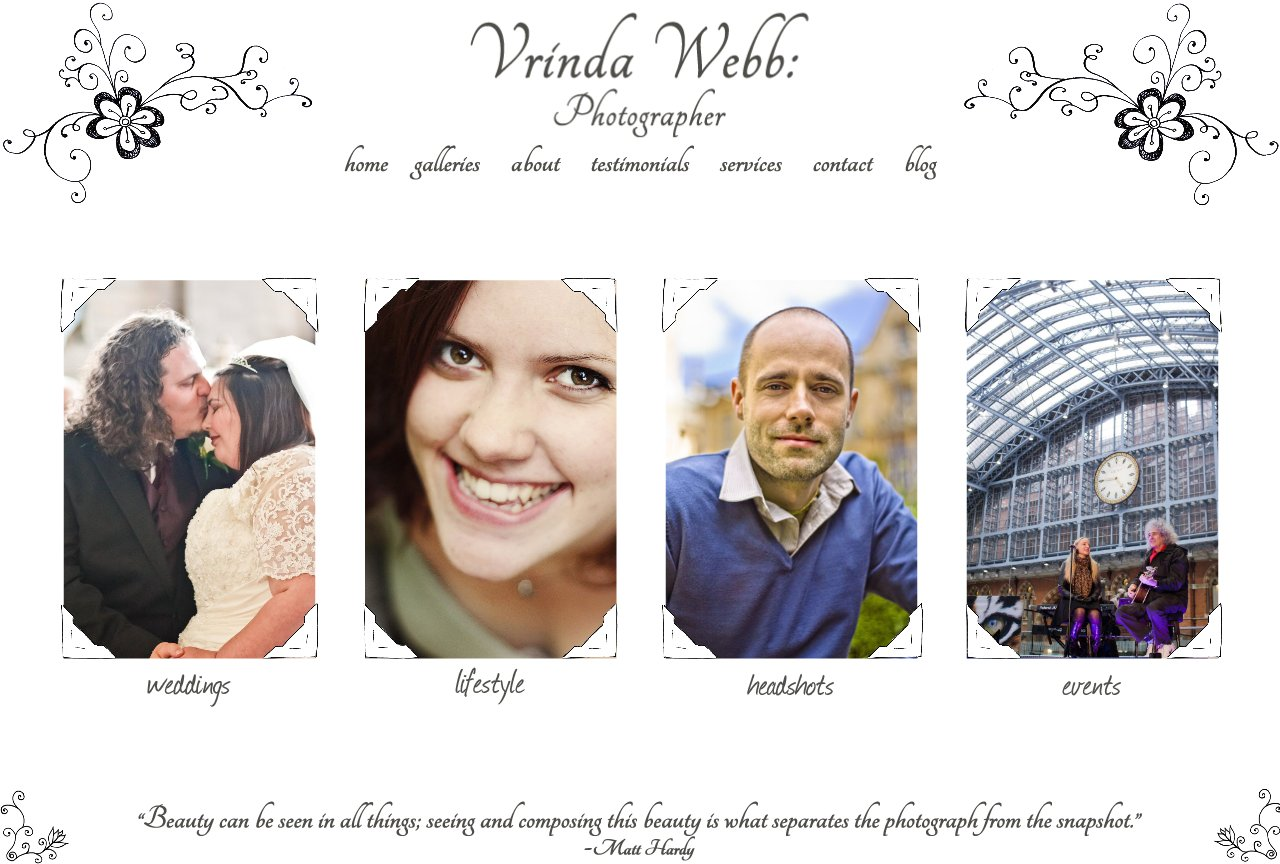 Vrinda Webb - Home