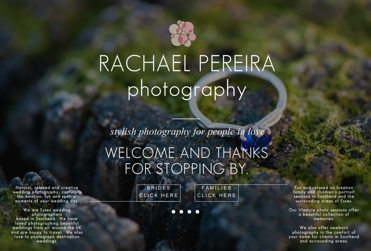 Southend based Wedding Photographer Rachael Pereira