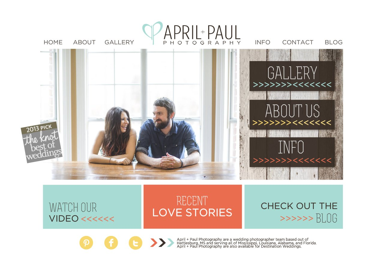 Home l April + Paul Photography l The Best Mississippi Wedding Photographers