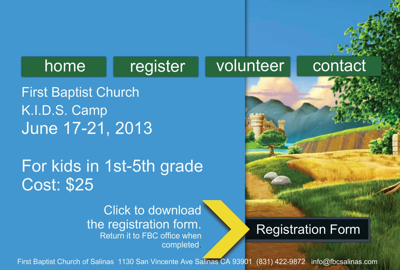 my experience volunteering with vacation bible school