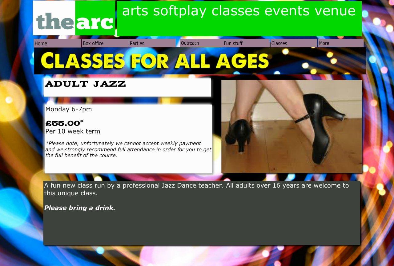 Adult Jazz The Arc Caterham