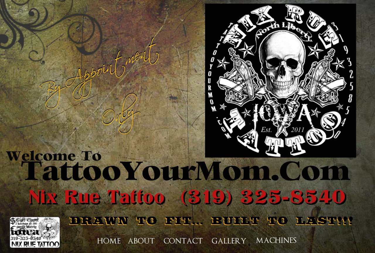 Nix Rue Tattoo Body Piercing North Liberty Iowa 52317