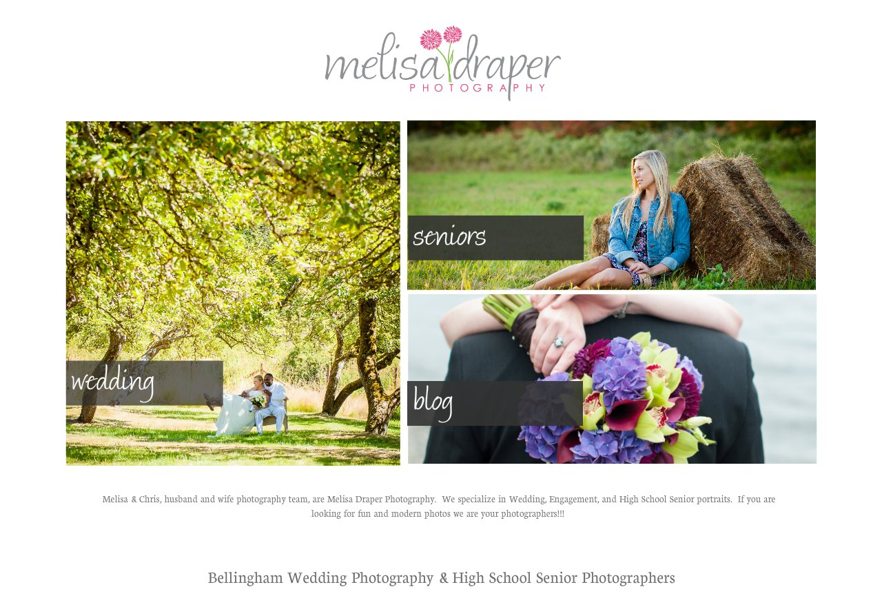 Bellingham Wedding Photographer | Melisa Draper Photography | High School Seniors, Weddings, & Portraits