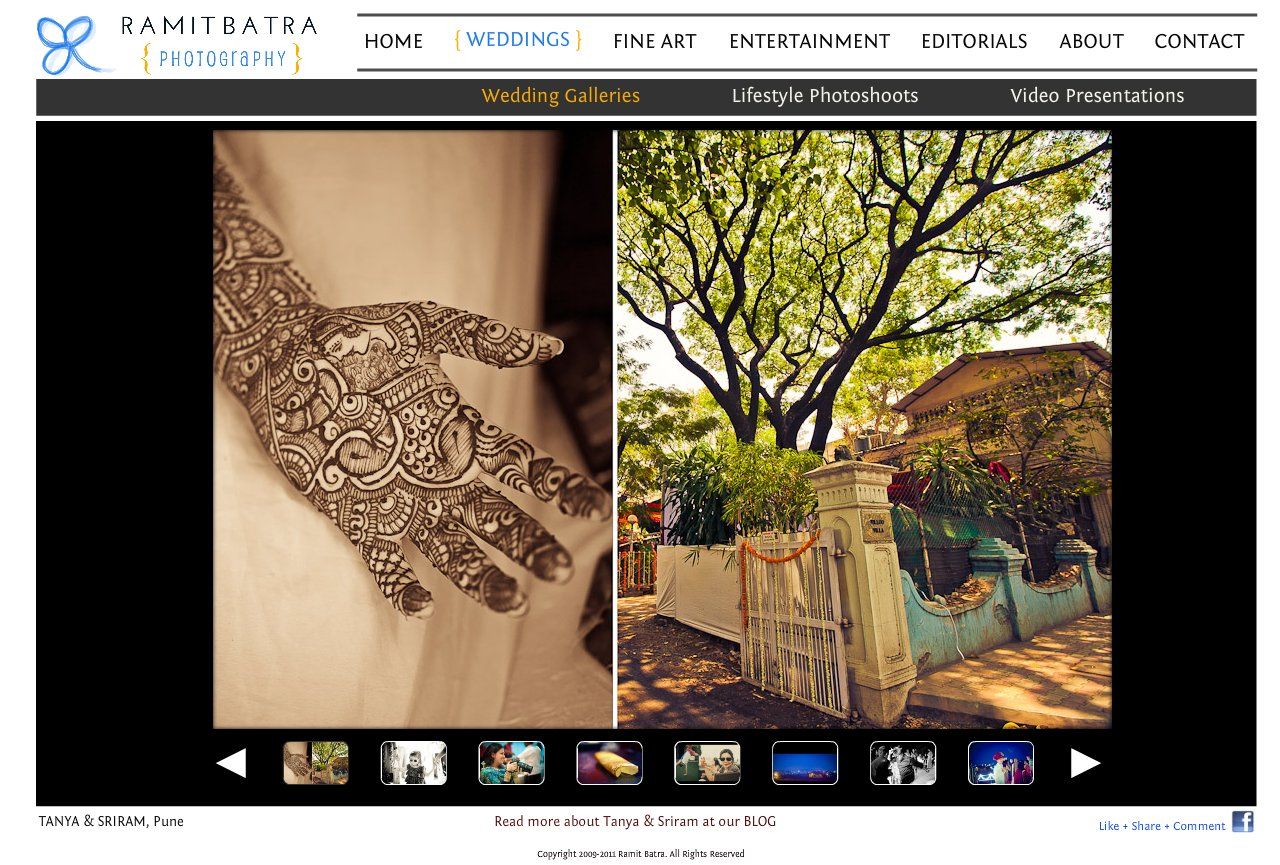 Wedding - Tanya & Sriram