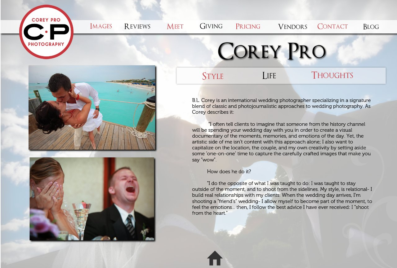 Shooting Style: the photographic style of Boston Wedding Photographer, Corey Pro