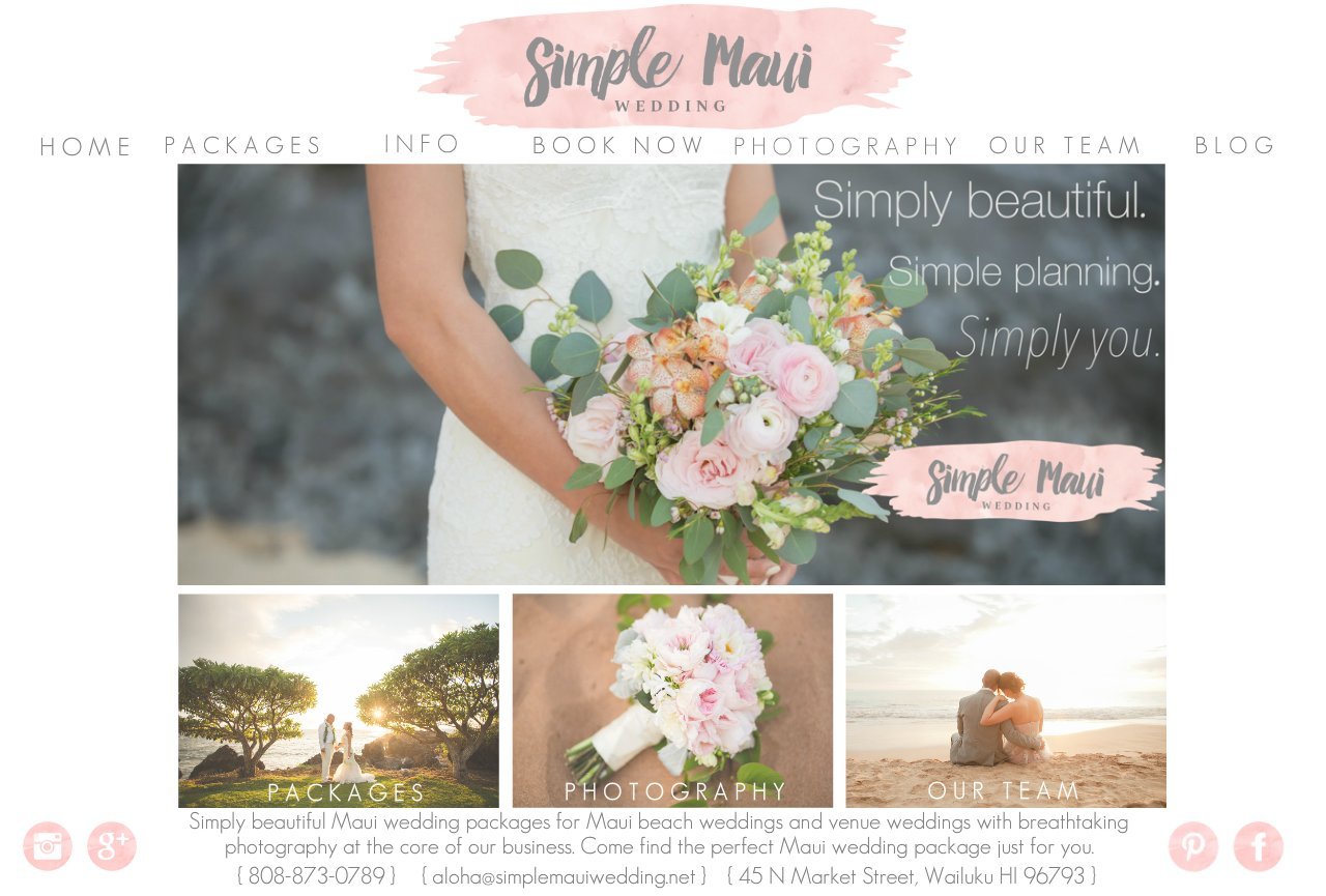 Maui Wedding Packages | Wedding Packages Maui | Maui Beach Weddings