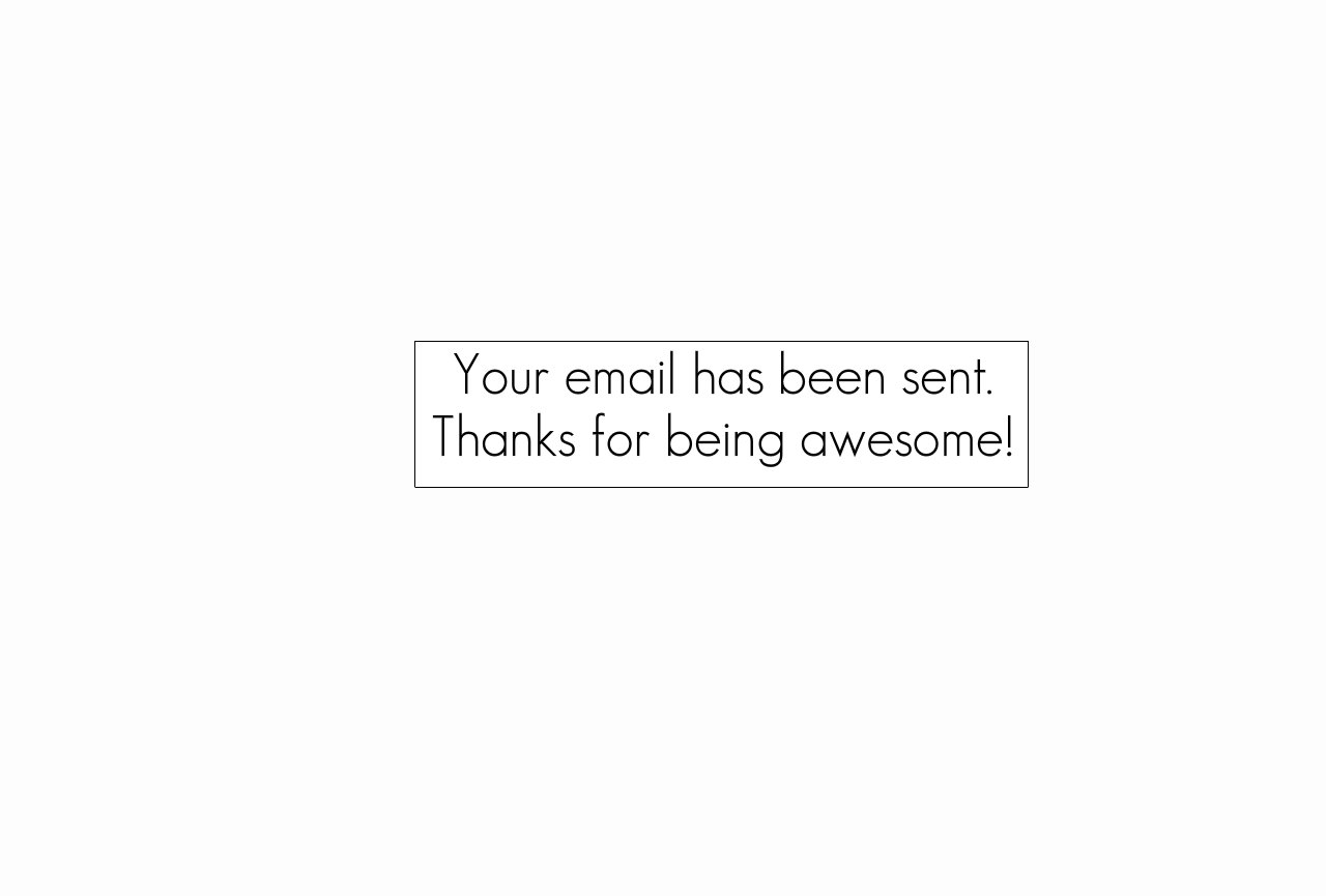 Email Thanks