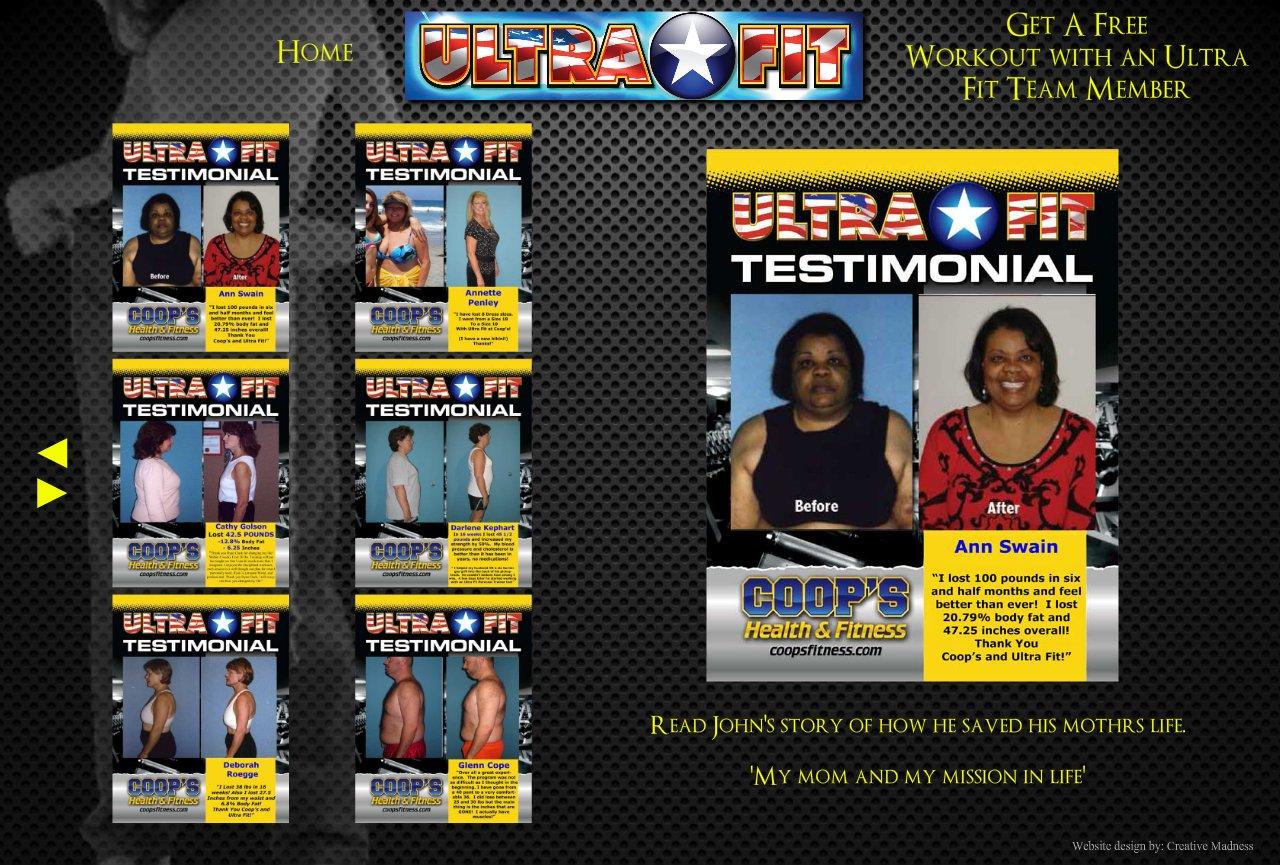 Testimonial Ultra Fit