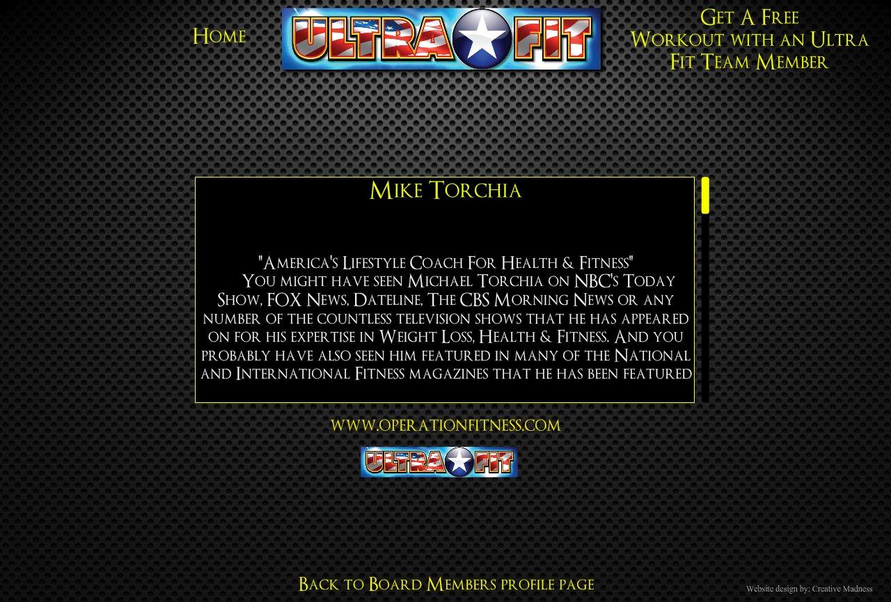 Ultra Fit Board Mike Trochia