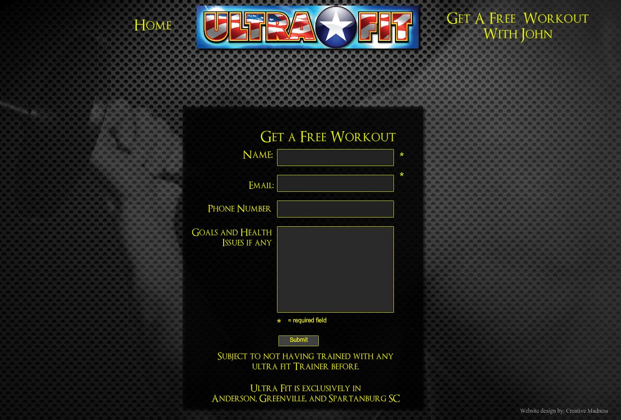 Free Workout Form