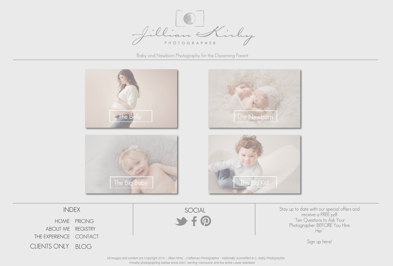 Jillian Kirby | Vancouver Baby Photographer