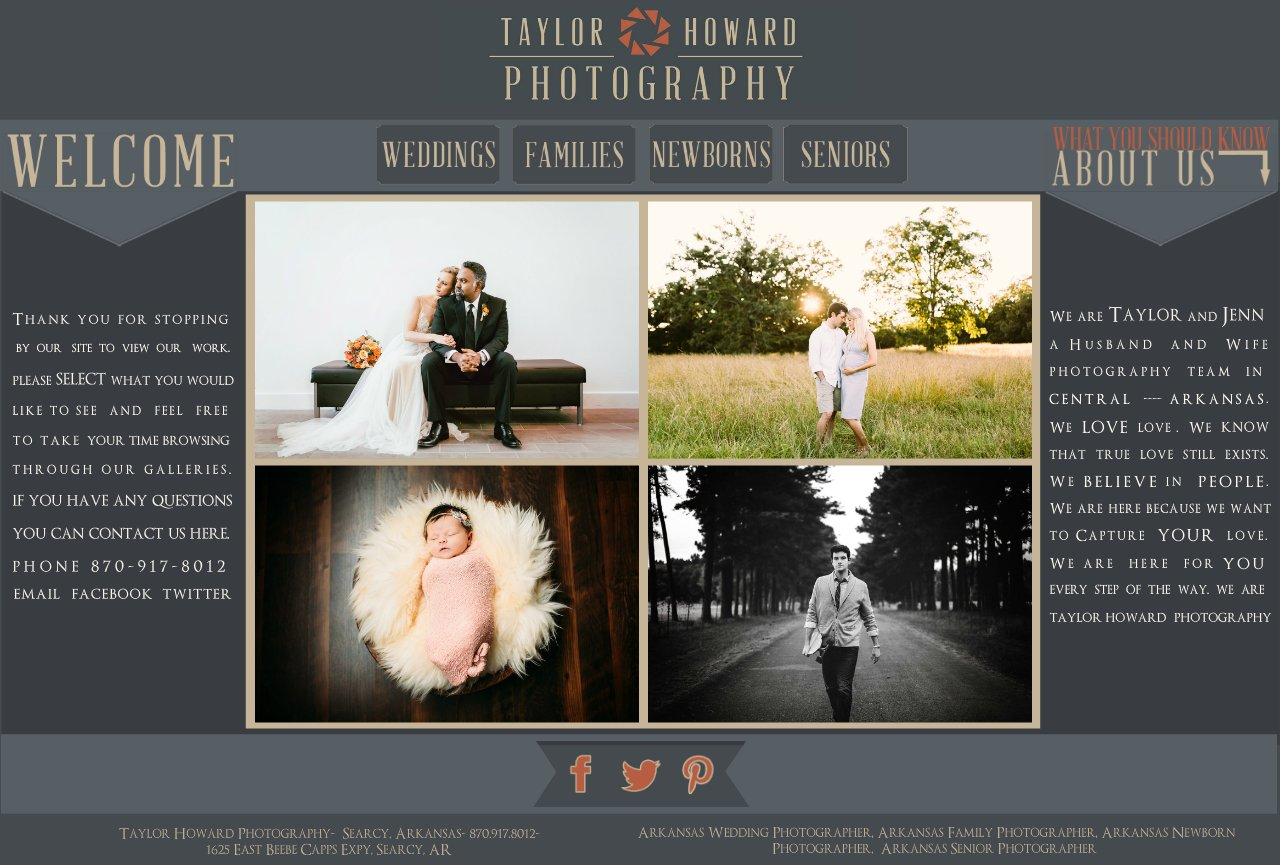 Taylor Howard Photography | Wedding, Engagement, Bridal, and Newborn Photographer | Searcy, Little Rock, Conway and Central Arkansas | 870.917.8012
