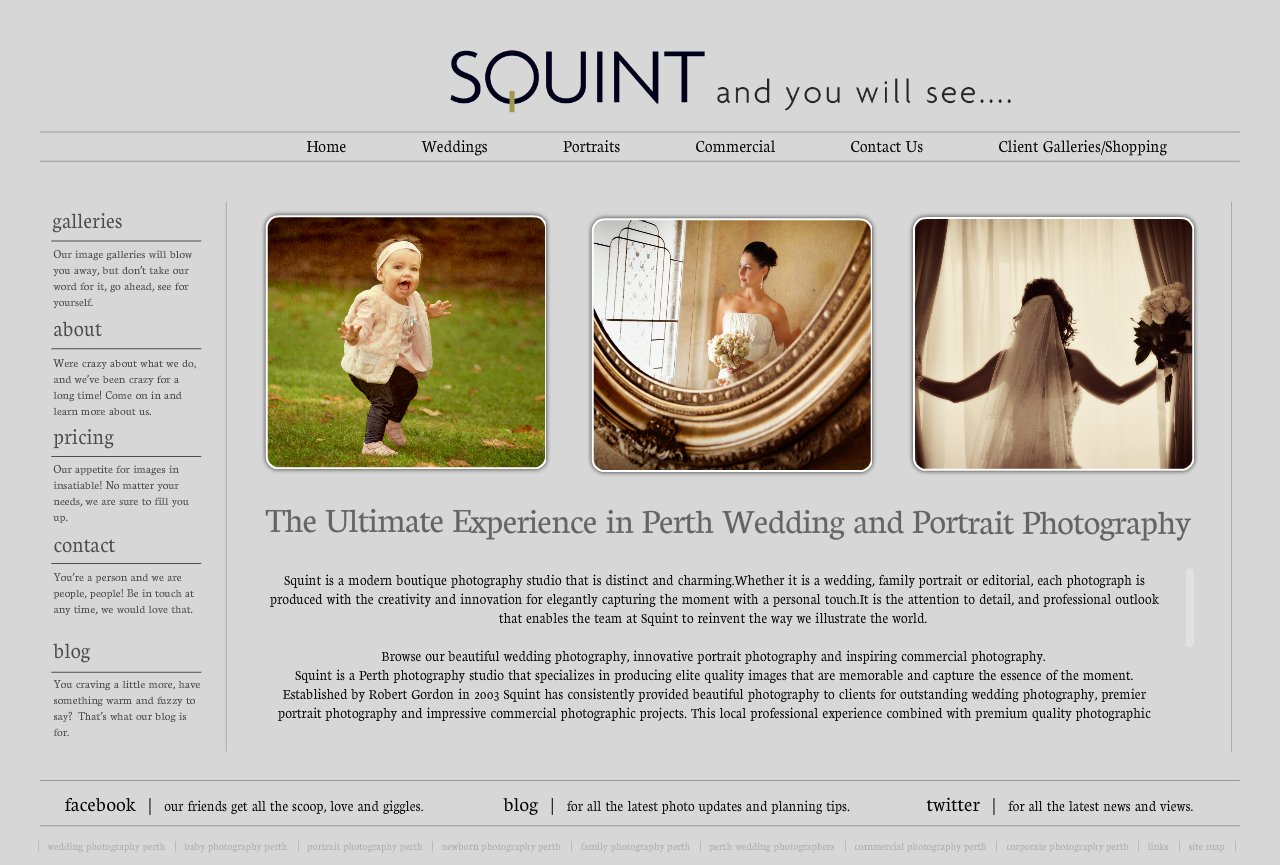 Award Winning Perth Photographer Ultimate Wedding and Premier Portrait Photography - Squint Photography Studio