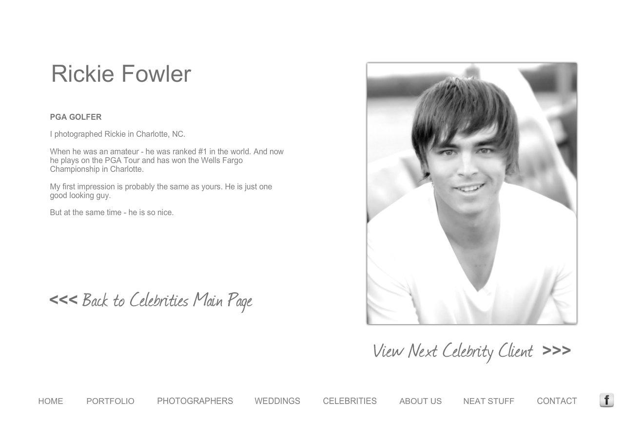 Rickie Fowler Wedding