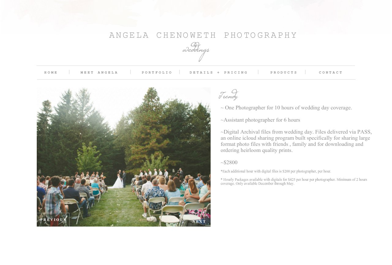 Angela Chenoweth Photography - TRENDY
