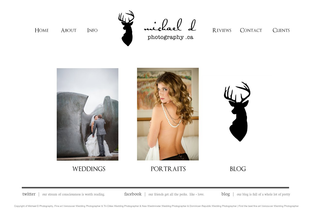 Welcome | Vancouver Wedding & Portrait Photographer  |  Michael Drofenik