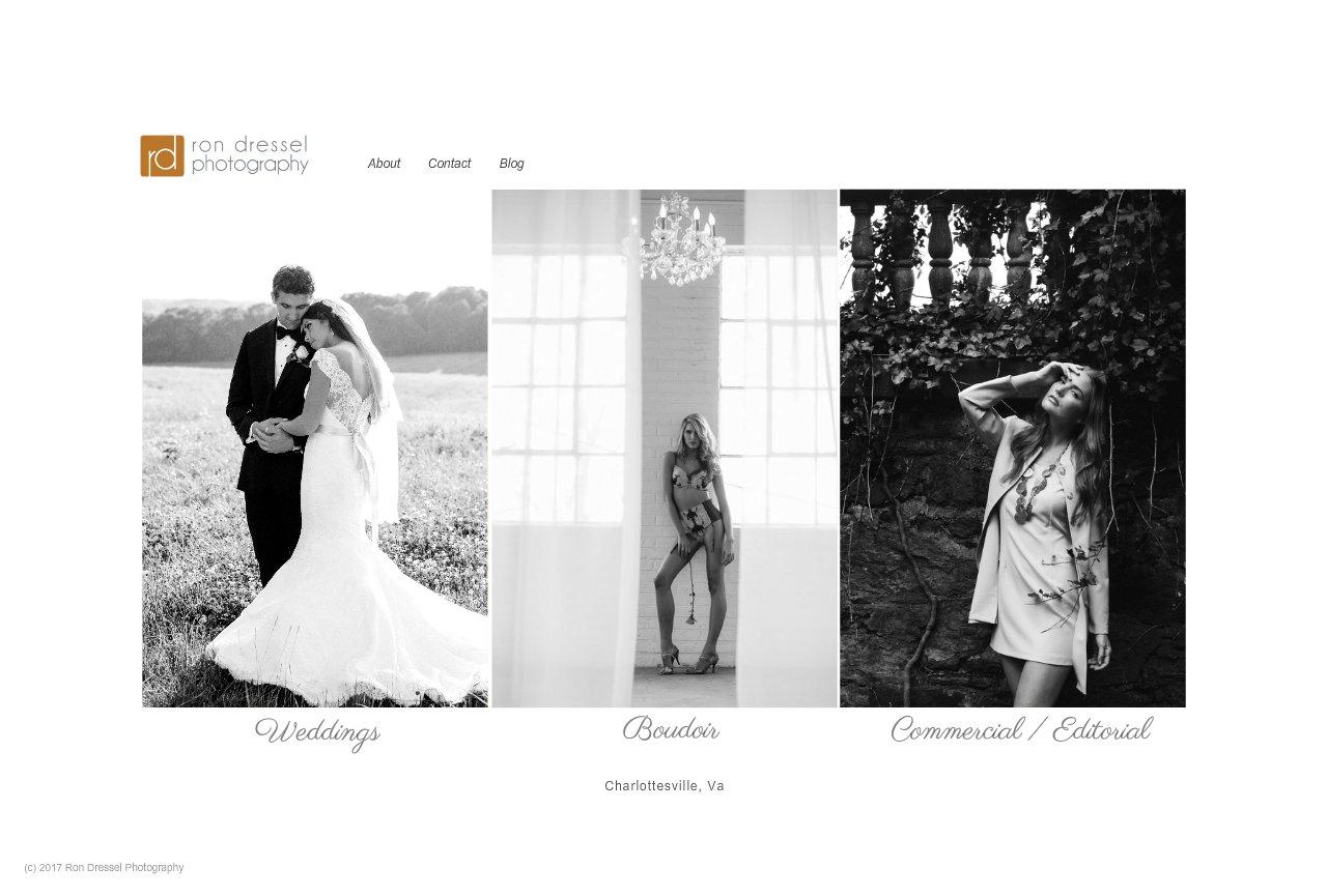 Ron Dressel Photography - Wedding and Portrait Photographer in Charlottesville, Va