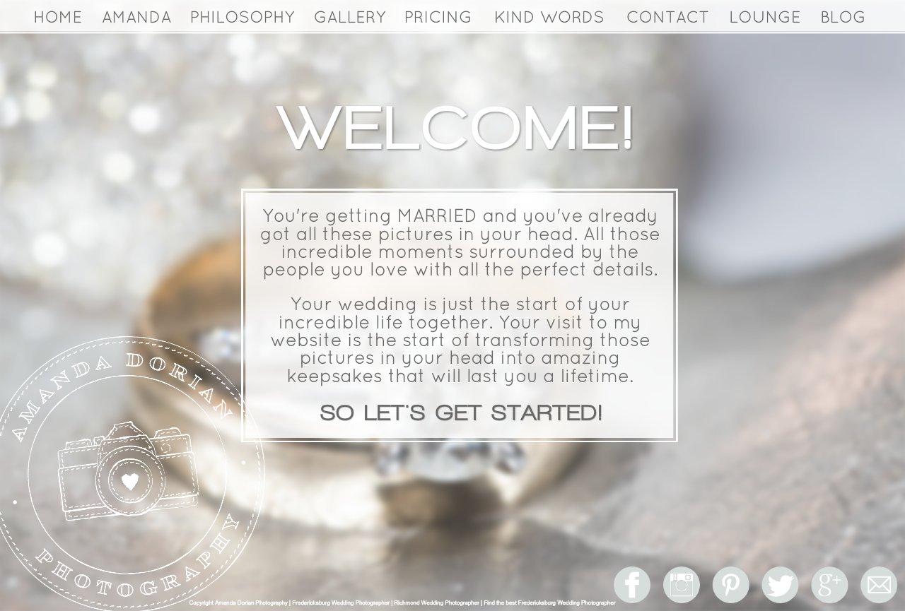 Welcome - Fredericksburg Wedding Photographers
