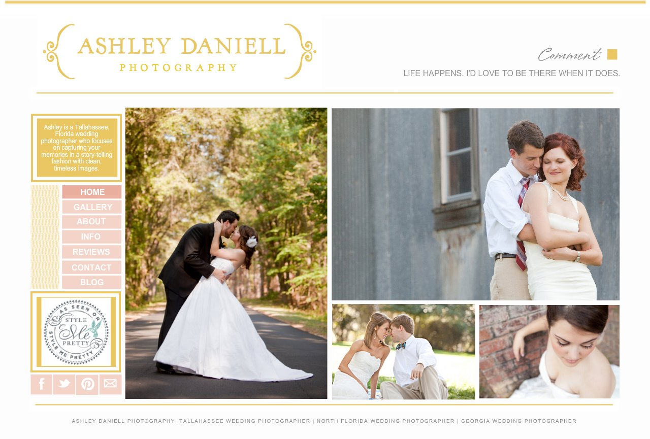 Ashley Daniell Photography - Pensacola, Destin, Tallahassee, and North Florida Wedding Photographer
