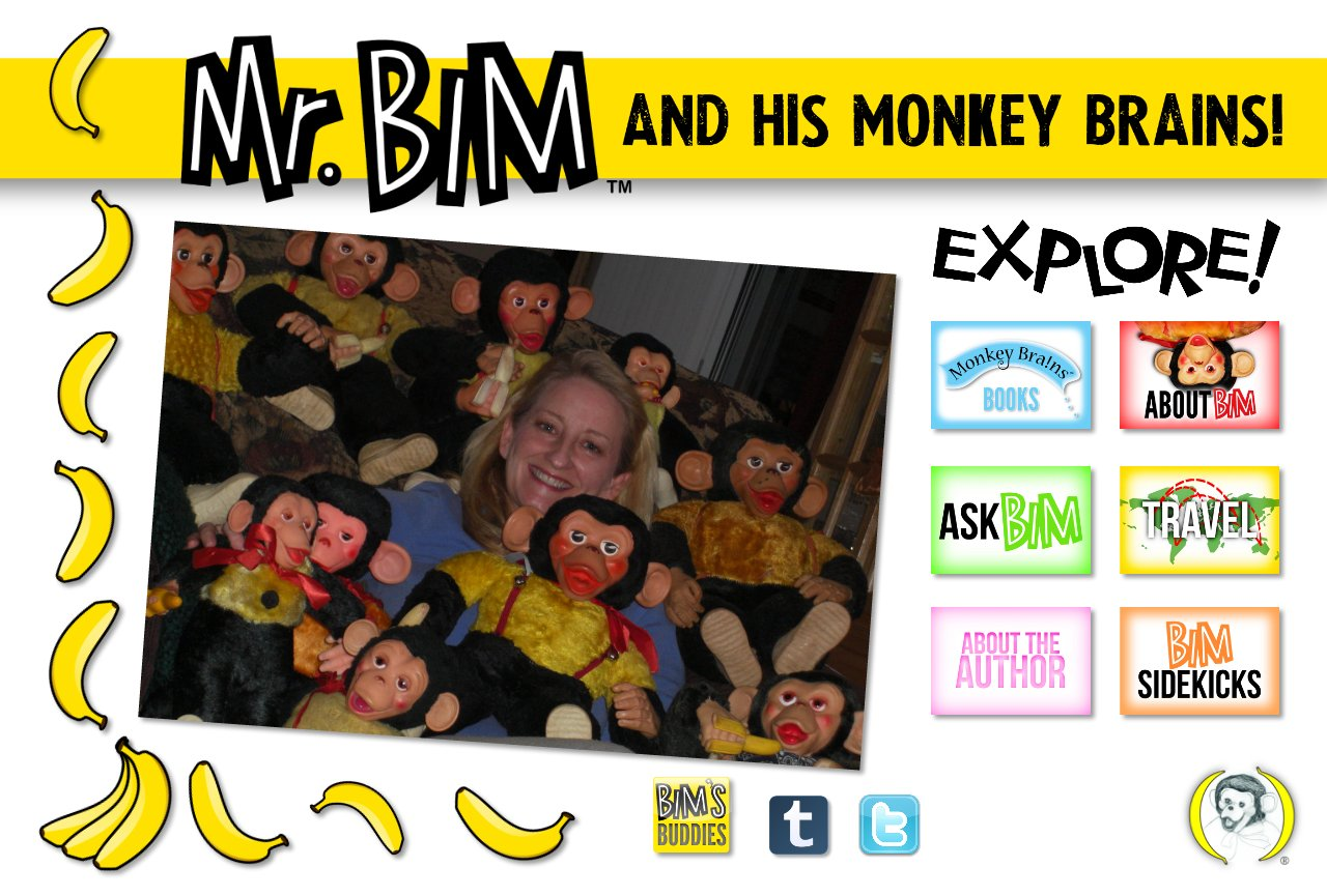 Monkeybrainsbooks Mr. Bim Home page